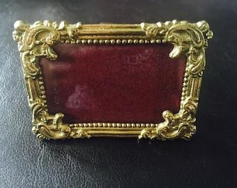 Vintage Inspired Brass Photo Frames