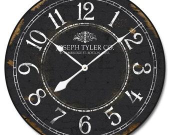 Black & White Clock