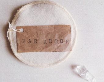 Organic Wool-Backed Hemp & Cotton Fleece Nursing Pads -- Wool Nursing Pads -- Organic Nursing Pads -- Re-Usable Nursing Pads
