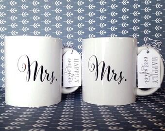 Mrs. | Mrs. Mug Set