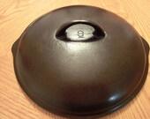 Cast Iron, #9, Lid, Rare cast iron lid,