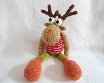 Moose crochet pattern