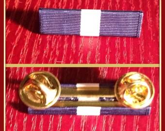 Us navy cross ribbon bar with mounting bar