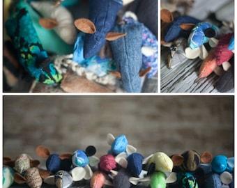 Handmade Catnip Mice / Mouse