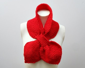 Knit / Bow Knot Scarf