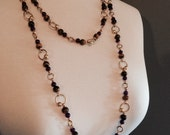 Felicity Gold Chain Beaded Necklace