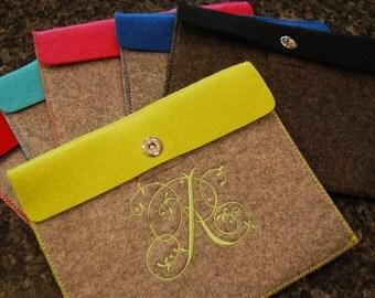 Custom Embroidered iPad Case