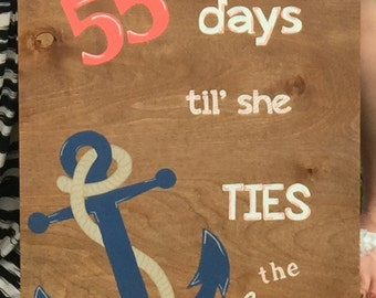 Tying the Knot Sign