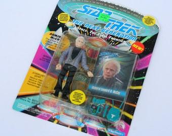 1993 Star Trek Admiral McCoy Figurine NEW IN BOX The Next Generation Space The Final Frontier Star Trek Collectible Vintage Star Trek