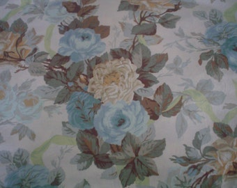 Vintage Fabric with Roses