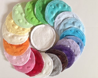Organic Bamboo Rounds, Makeup Removers Pads, Facial Cleansing Rounds, Washable Cotton Rounds, Gift for her, Gift for Mom, Bridesmaid Gift