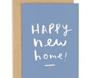 Happy New Home Card - congratulations card - moving card - new home card - home sweet home card - CC76