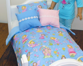 "Doll Bedding for your American Girl Doll / 18"" Doll Bedding"