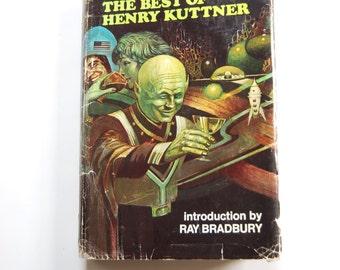 Vintage Sci-Fi Book, The Best of Henry Kuttner