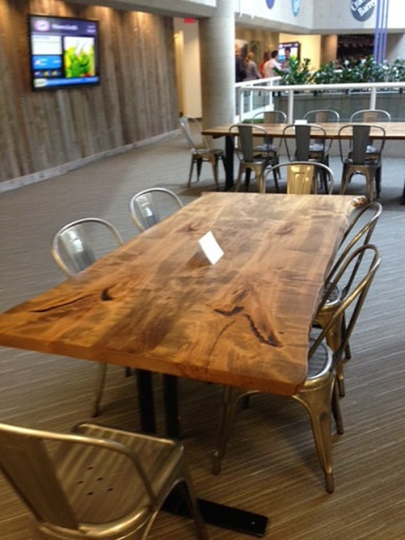Canadian Live Edge Furniture Custom Made Wood Desk Boardroom Table High End  Conference Tables