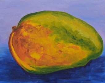 Mango oil painting