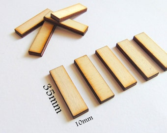 Unfinished Wood geometric Tiles for earrings