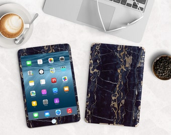 Black & Bronze Marble Vinyl Skin for the iPad Air 2, iPad mini , Kindle All Models , Surface Pro and RT
