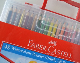 Faber-Castell Watercolor Pencils Set of 48