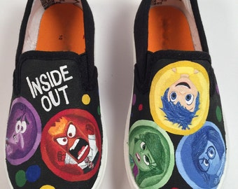 Inside Out Hand Painted Shoes