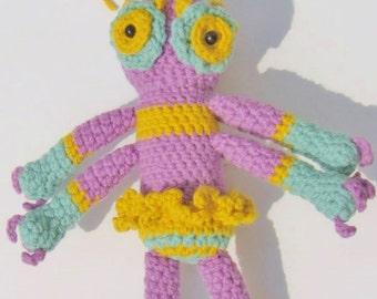 Perpetua  -handmade crochet, made to order
