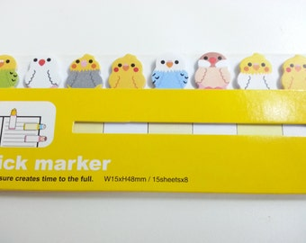 Stick Marker - Bird- 120 sheets