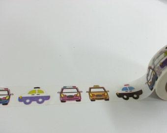 Lovely  Car Washi / Masking Tape - 10M
