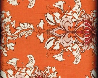 Fabric Free Spirit Top Quality Tina Givens Lilliput Fields Vintage Orange Westminster Fibers By The Yard Quality Cotton