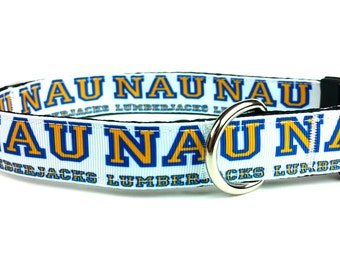 NAU Lumberjacks Dog Collar
