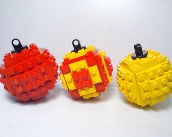 Lego Christmas Ball @ Christmas Ornament @ Christmas