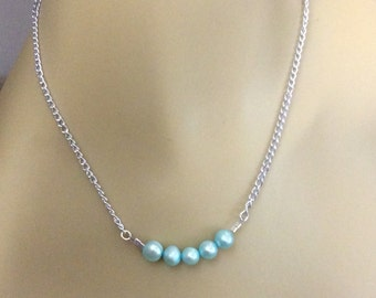 Pastel Pearl Necklace