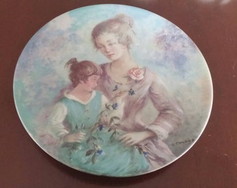 Limoges wall plate etsy for Home decor 41st