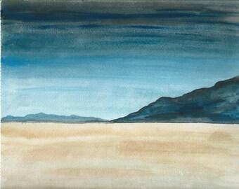 Open Spaces - Original 5x7 Watercolor