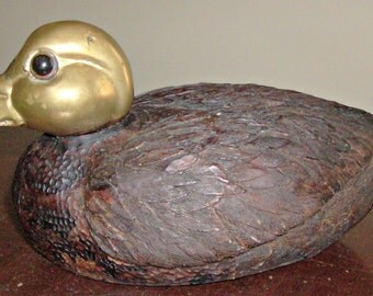 Vintage Decorative Duck Decoy