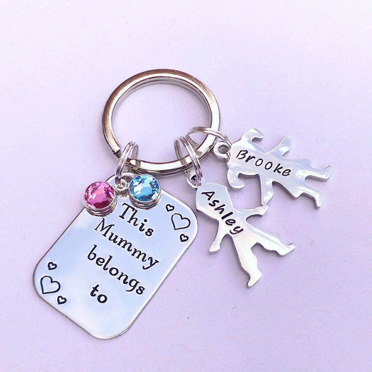 Personalised gift for mum - personalised keyring for mum - birthday gift for mum - mum keyring - mummy gift - new mummy gift - mum present