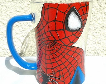 Spiderman Superhero Beer Mug