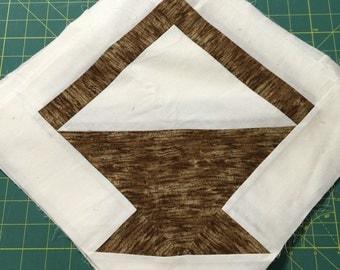 Basket quilt blocks