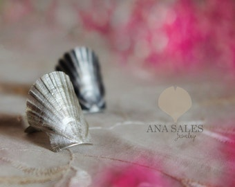 Sea Shell Ring Sterling