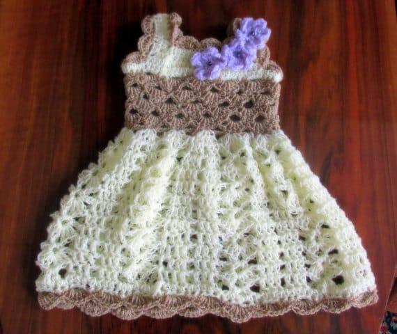 Crochet Simple Dress Pattern : Crochet pattern toddler dress pattern girl dress crochet
