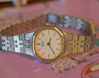Vintage Ladies Seiko Quartz Watch