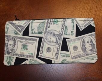 Money Zipper Pouch