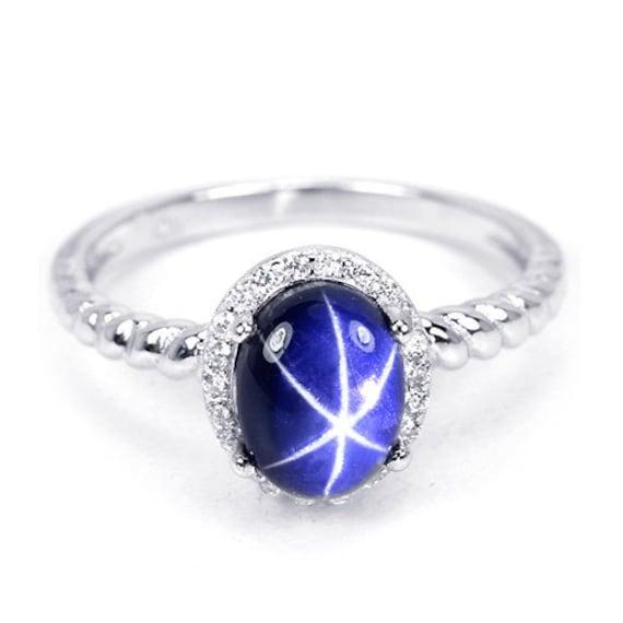genuine star sapphire ring - photo #8