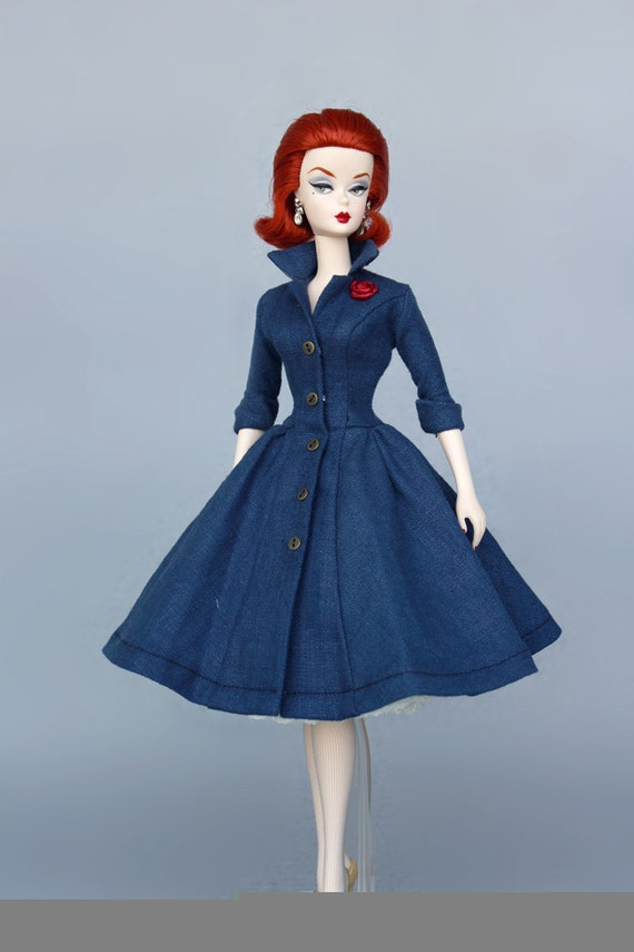 Dress Pattern pdf download for your Silkstone barbie Dolls ...