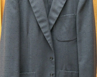 Excellent nubby flecked 1950s sportcoat