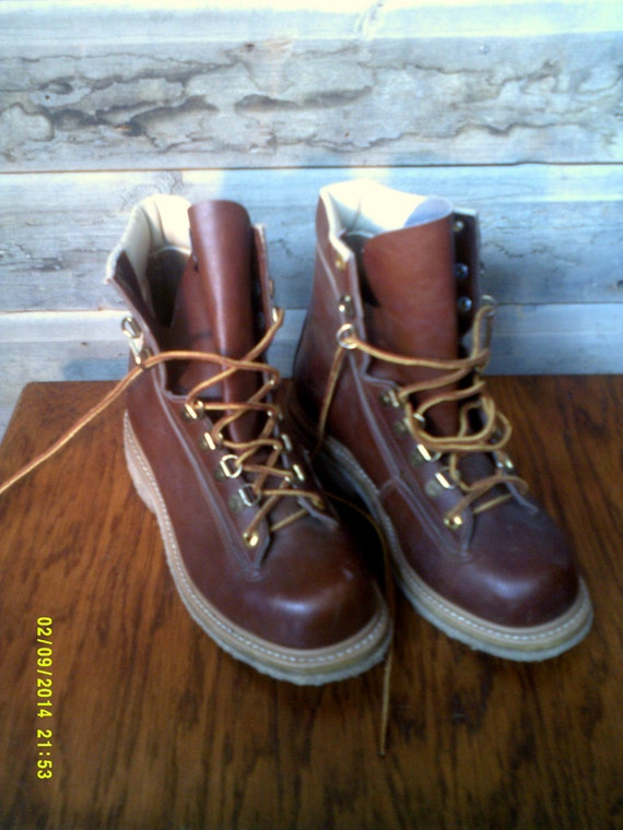 Woman 39 s vintage wading fly fishing boots size 8 gary for Fly fishing shoes