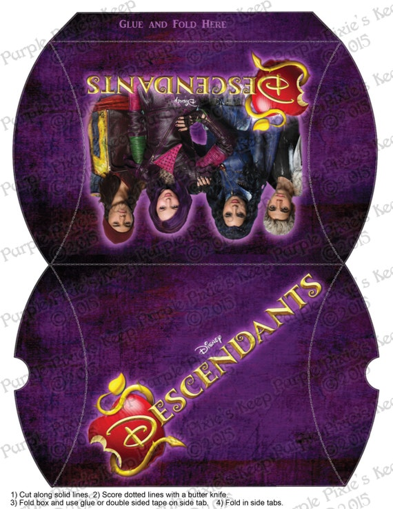 Disney Descendants Favor Box