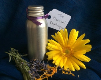 Organic Calendula Oil with Organic Croation Lavender Pure Essential Oil