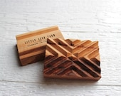 Signature Handmade Wooden Soap Dish