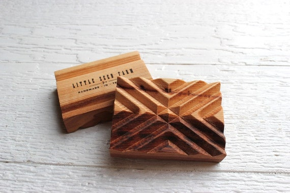 Wooden Soap Dish Handmade