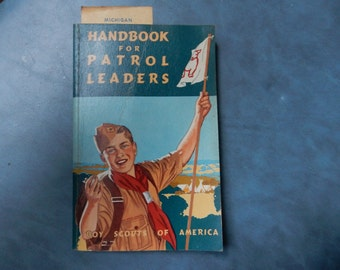 1962 Handbook for Patrol Leaders, Boy Scouts of America